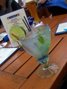 My inspiration: Mango Mojito at Schooners in Monterey