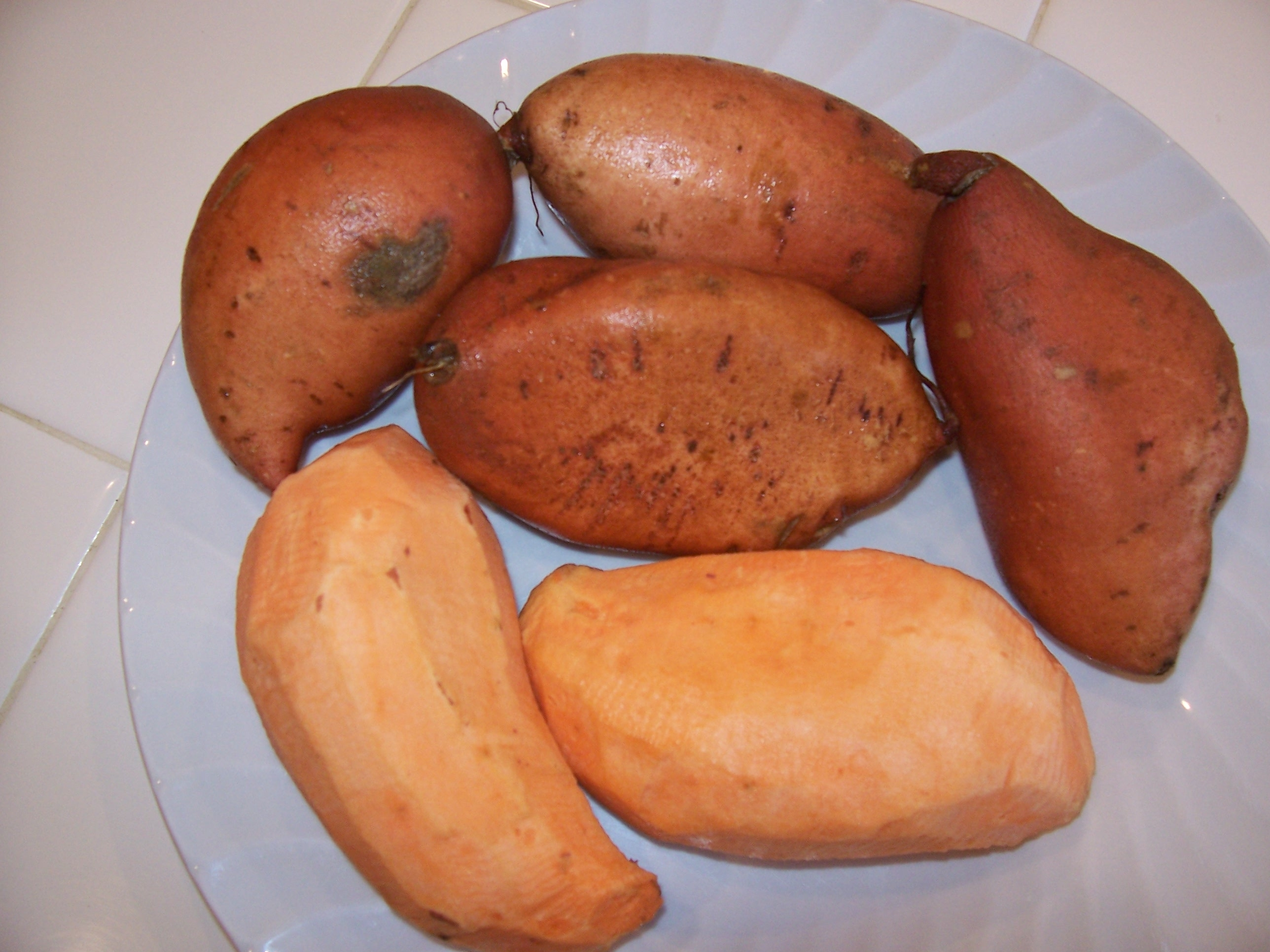 Sweet Potatoes Raw