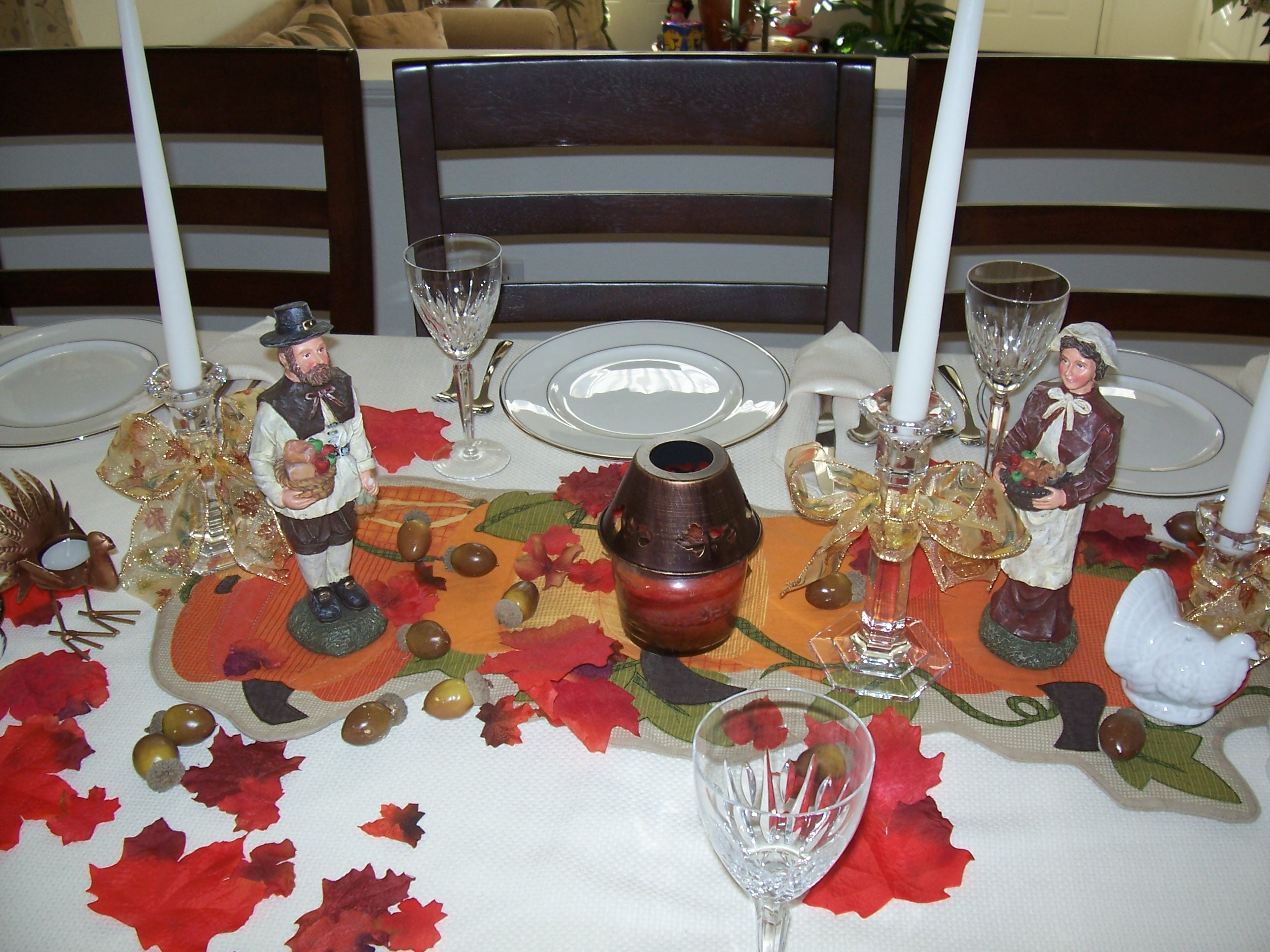 Decorating Ideas > Weddings & Events « Tasty Little Morsels Blog ~ 192936_Thanksgiving Centerpieces Name
